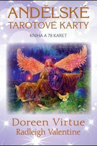 Andělské tarotové karty - Kniha a 78 kariet