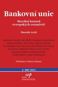 Bankovní unie - Morální hazard evropských rozměrů?