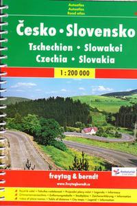 Autoatlas Česko Slovensko 1:200 000