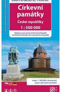 Církevní památky České republiky 1: 500 000