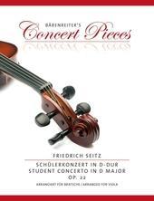 Concerto D major op. 22 viola