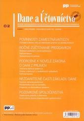 Dane a účtovníctvo 2