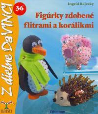 DaVinci - Figúrky zdobené flitrami a korálikmi