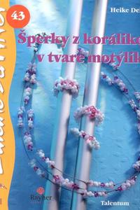 DaVinci - Šperky z korálikov v tvare motýlika