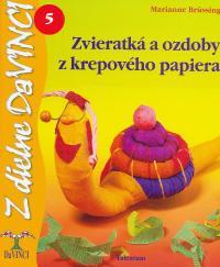 DaVinci - Zvieratká a ozdoby z krepového papiera