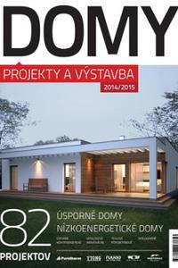 Domy - Projekty a výstavba 2014/2015