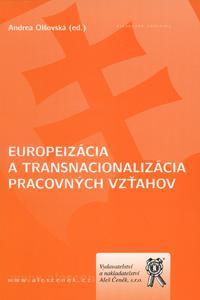 Europeizácia a transnacionalizácia pracovných vzťahov