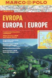 AA - Evropa 1:800 000