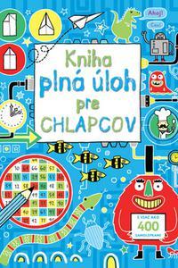 Kniha plná úloh pre chlapcov s viac ako 400 samolepkami