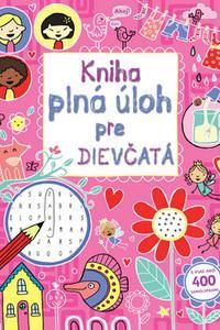 Kniha plná úloh pre dievčatá s viac ako 400 samolepkami