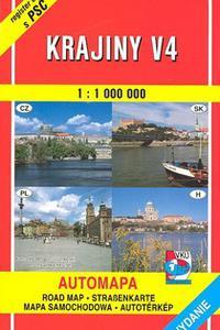 AM - Krajiny V4 1 : 100 000