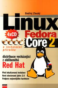 Linux Fedora Core 2 + 4CD