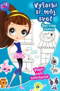 Littlest Pet Shop - Štyri ročné obdobia - Vyfarbi si môj svet