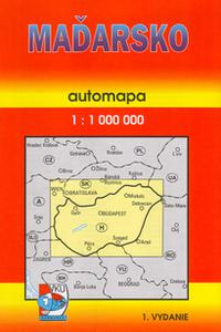 AM - Maďarsko 1:1000 000