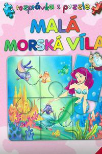 Malá morská víla - Rozprávka s puzzle