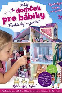 Môj domček pre bábiky - Poskladaj a zariaď