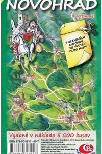 Novohrad - Ručne maľovaná mapa regiónu