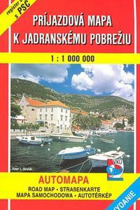 AM - Príjazdová mapa k Jadranskému pobrežiu