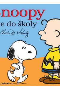 Snoopy ide do školy