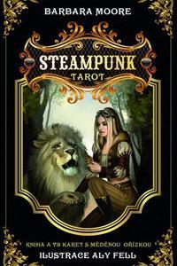 Steampunk tarot - kniha a 78 karet