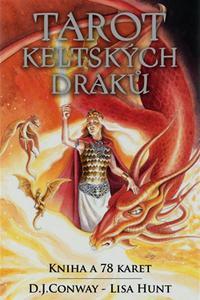 Tarot keltských draků - Kniha, váček a 78 karet
