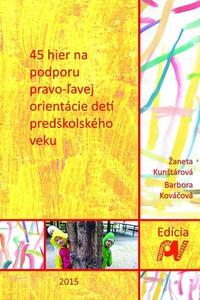 45 hier na podporu pravo-ľavej orientácie detí predškolského veku
