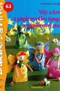 DaVinci -Víly a kvety z papierového špagáta a papierovej stuhy