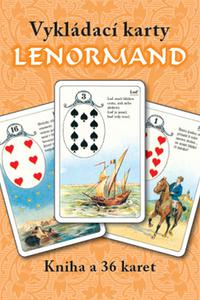 Vykládací karty Lenormand - Kniha + 36 karet