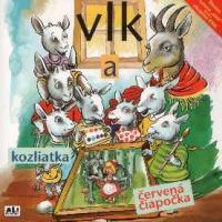 112 - Vlk a kozliatka, Vlk a Červená čiapočka - Audiokniha