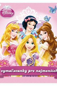Disney Princezná - Vymaľovanky pre najmenších