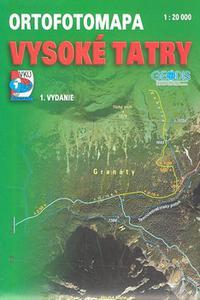 Ortofotomapa - Vysoké Tatry 1 : 20 000