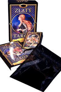 Zlatý Tarot - kniha a 78 karet